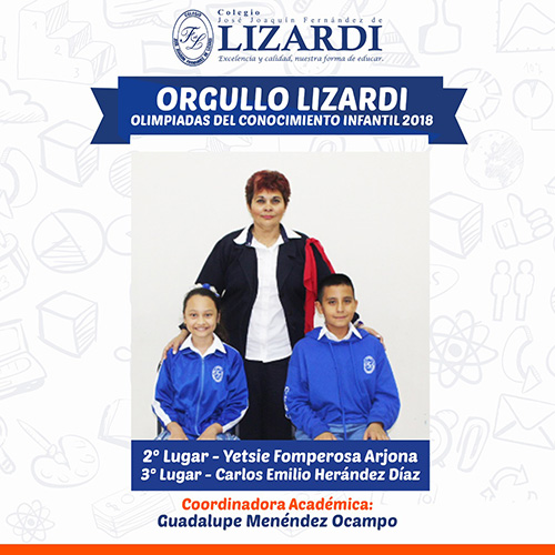 Ganadores Olimipiada Conocimiento Infantil Veracruz