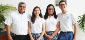 Equipo de matemáticas del Colegio Lizardi, Veracruz.