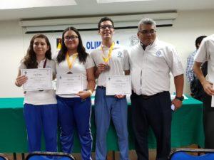 Olimpiadas del conocimiento matemáticas Colegio Lizardi Veracruz