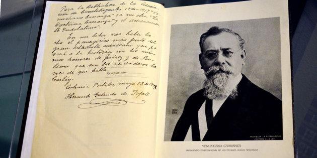 Un 5 de febrero se promulgó nuestra actual constitución.